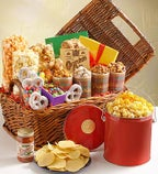 The Popcorn Factory Celebration Basket