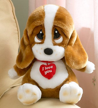 Dog With I Love You  Collar