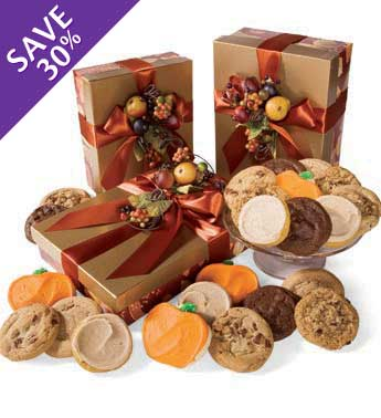 Cheryl & Co. Autumn Cookie Set in a Gift Box
