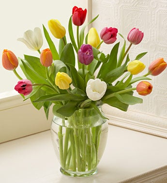 Sweet Treat Tulips with Easter Bunny