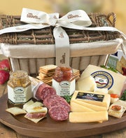 Deluxe Epicurean Meat & Cheese Gift Basket
