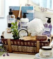 Denarii Lavender Spa Gift Basket