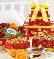 Get Well Fruit Gift Box - 1800baskets.com