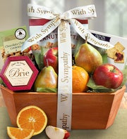 Fresh Fruit Sympathy Box - 1800baskets.com