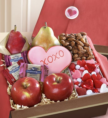 Very Special Valentine Fruit & Sweets Box