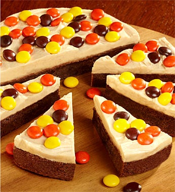 Cheryl's Peanut Butter Brownie Round