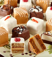 Festive Fall Favorites Petit Fours, set of 24