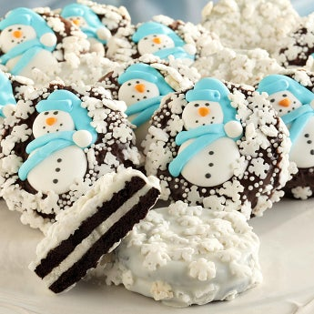 Snowflake Belgian Chocolate Covered Oreo� Cookies