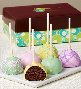 Sweet Spring Truffle Cake Pops