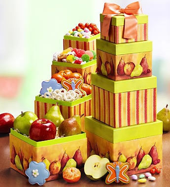 Succulent Fresh Fruit & Sweets Tower