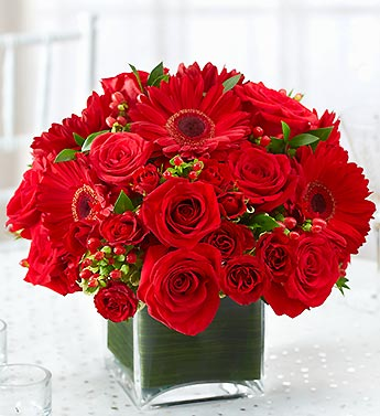 Red Centerpiece Package