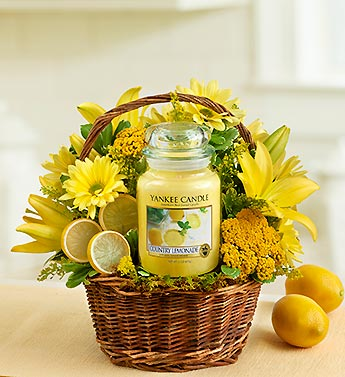 Yankee Candle� Make Lemonade? Basket