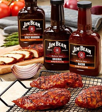Jim Beam BBQ Bliss Deluxe Grilling Kit