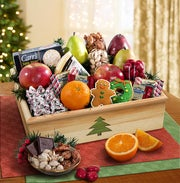 Holiday Tree Fruit & Sweets Crate