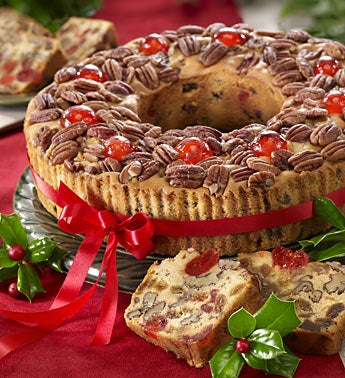 Classic Holiday Fruit Cake