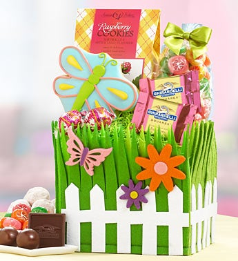 Blooming Spring Sweets Basket