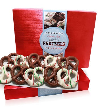 Fannie May 1 lb. Holiday Pretzels