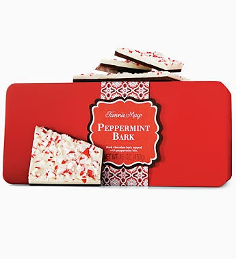 Fannie May 1 lb. Peppermint Bark Tin