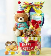 Here?s To You Happy Birthday Gift Basket