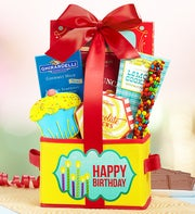 Party On Happy Birthday Gift Basket