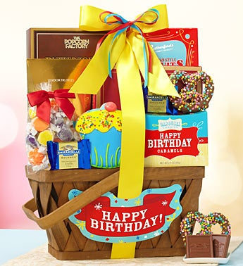 The Best Birthday Ever Gift Basket