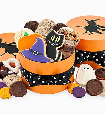 Cheryl's Witch Silhouette Box w/treats