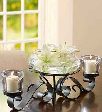 Mikasa� Love Lights Centerpiece