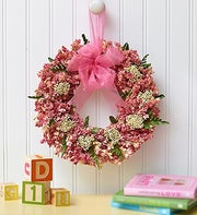 Dreamy Nursery Preserved Wreath