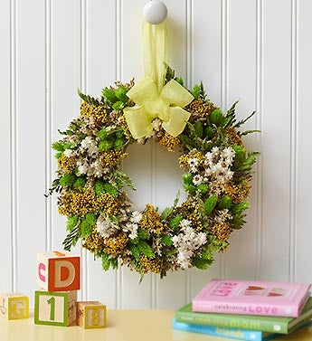 Ray of Sunshine Preserved Wreath