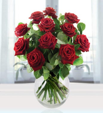 Twelve Red Roses