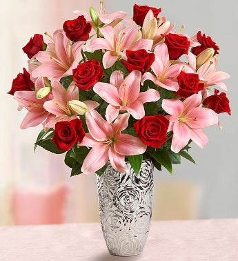Radiant Rose & Lily Bouquet