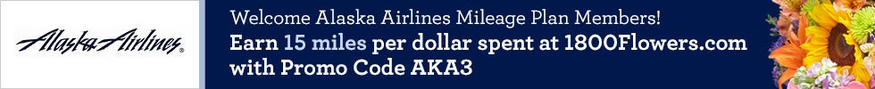 Welcome Alaska Airlines Mileage Plan Members!
