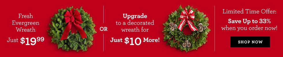 Fresh Wreath | 1-800-Flowers.com